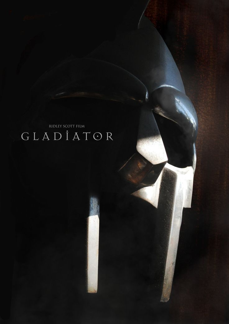 Gladiator Movie Poster Style A - The Helmet of Max by tanman1