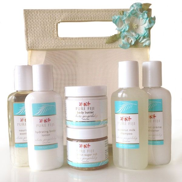 Pure Fiji Travel Bag | A perfectly sized travel kit of Pure Fiji luxuries, pack it for your next trip away!