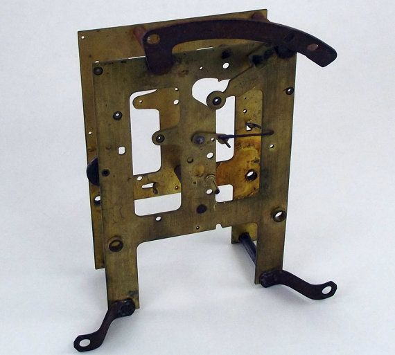 E Ingraham Clock Front and Back Movement by blaylocksteamworks, $8.99