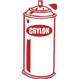 Cry Krylon Spray Paint Can onsie