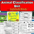 The Animal Classification Unit includes a PowerPoint, posters, a game, a class book, and more resources all centered around animal classification. ...
