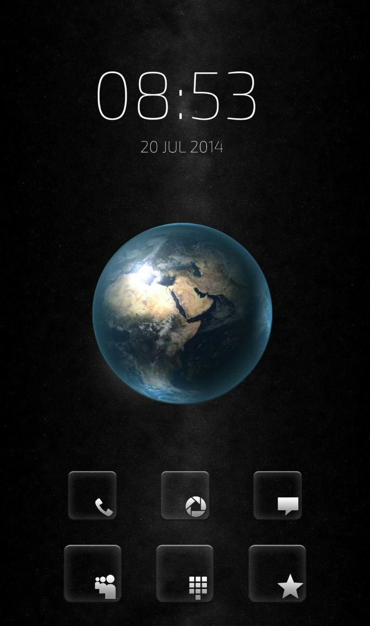 [Homepack Buzz] Check out this awesome homescreen! Rais Khairi | Other Dimensions ^ 기타 치수 earth