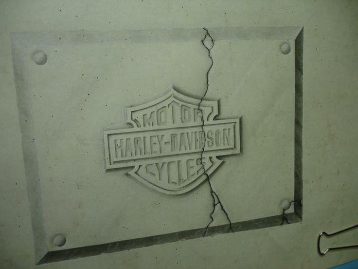 """Marble-Stone"" Harley logo!!"