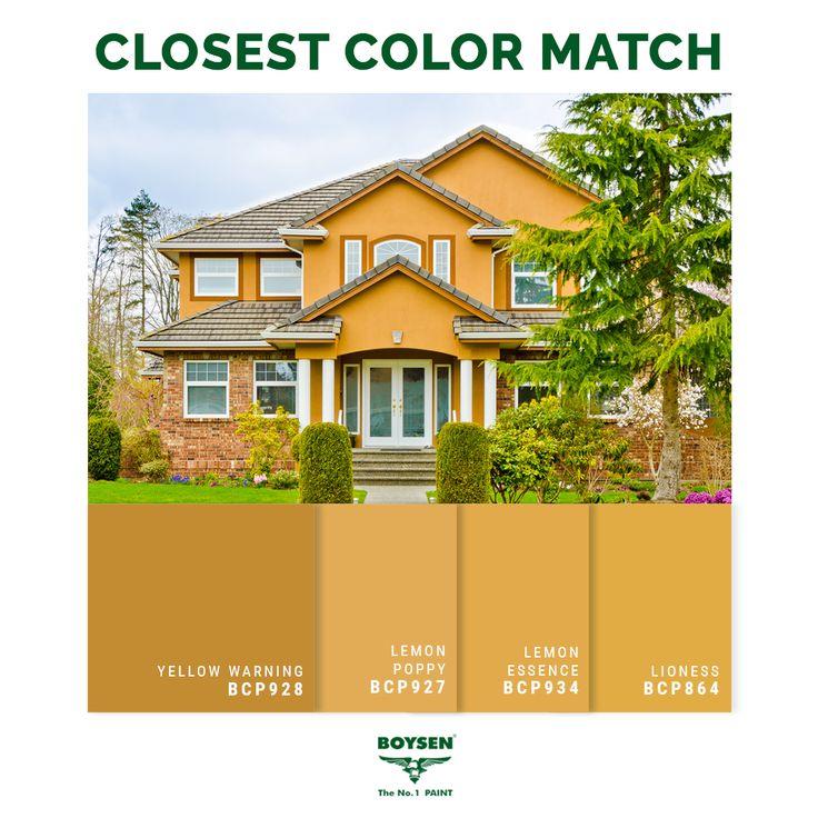 78 Best Boysen Closest Color Match Images On Pinterest
