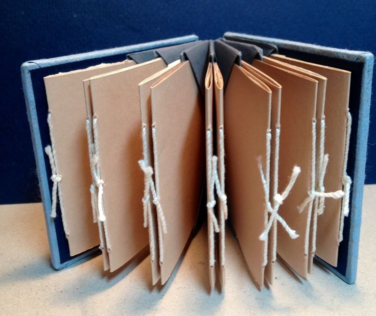 The Blizzard book structure is attributed to Hedi Kyle. I learned it in a class with Kathy Steinsberger. The spine is folded in such a way that pockets are created and it is often used for...