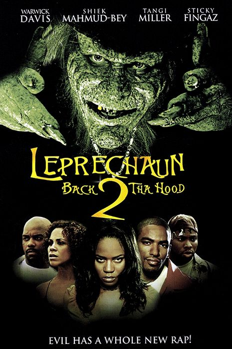 """Here's Everything Coming To Netflix In April #refinery29  http://www.refinery29.com/2015/04/84043/new-on-netflix-april-2015#slide-11  Leprechaun 6: Back 2 tha Hood (2003)The Leprechaun writers ran out of ideas and were like, """"Would anyone notice if we just redid Leprechaun in the Hood?""""Available April 1"""