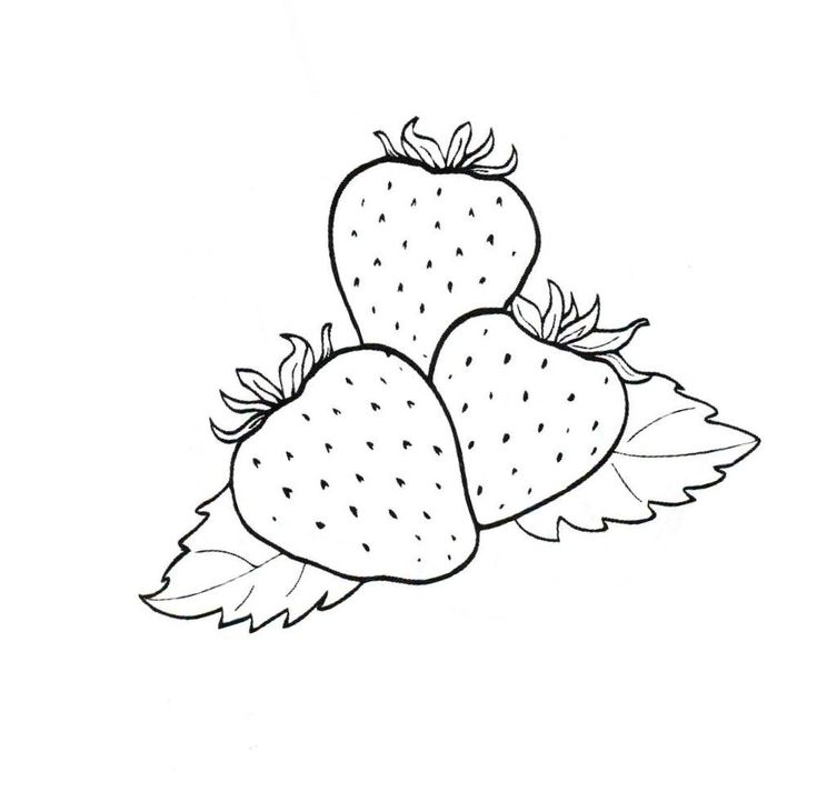 42 best Strawberry Coloring Pages images on Pinterest | Strawberries ...