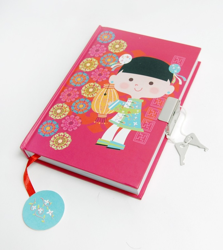 Secrets Lined Hardcover Notebook - Ming