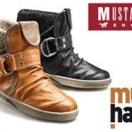 Incaltaminte de dama si barbati Mustang: ghete, botine, pantofi, cizme si bascheti. Incaltaminte de toamna Mustang pentru copii, femei si barbati. Transport gratuit.