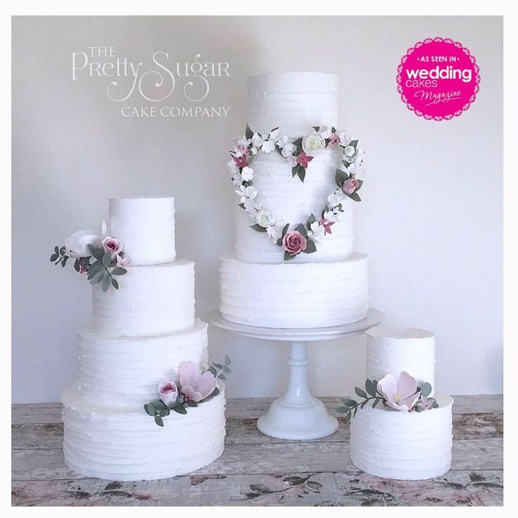 Our wedding cakes featured in Wedding Cakes Magazine