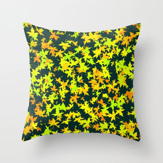 Throw pillow  Green leaf throw pillow best design  #Green leaf #Green leafthrowpillow #throwpillow #throwpillowcase #birthdaygift #Christmasgift #homedecoration #bedroomdecoration #society6