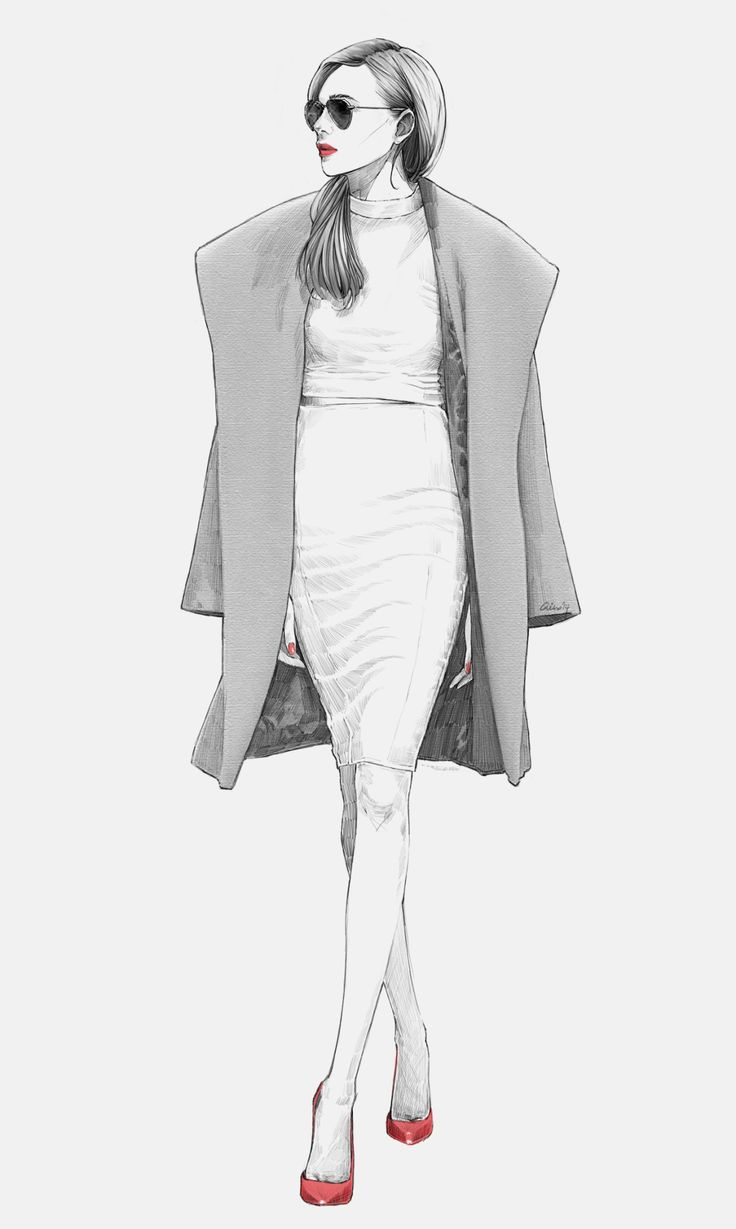 88 best Fashion Sketches images on Pinterest | Fashion ...