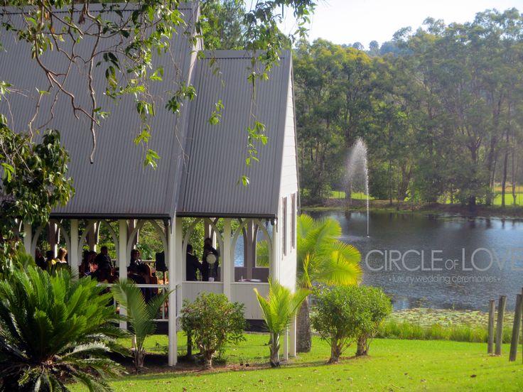 The Abbey Wedding Chapel, Cobaki NSW http://circleofloveweddings.com.au/