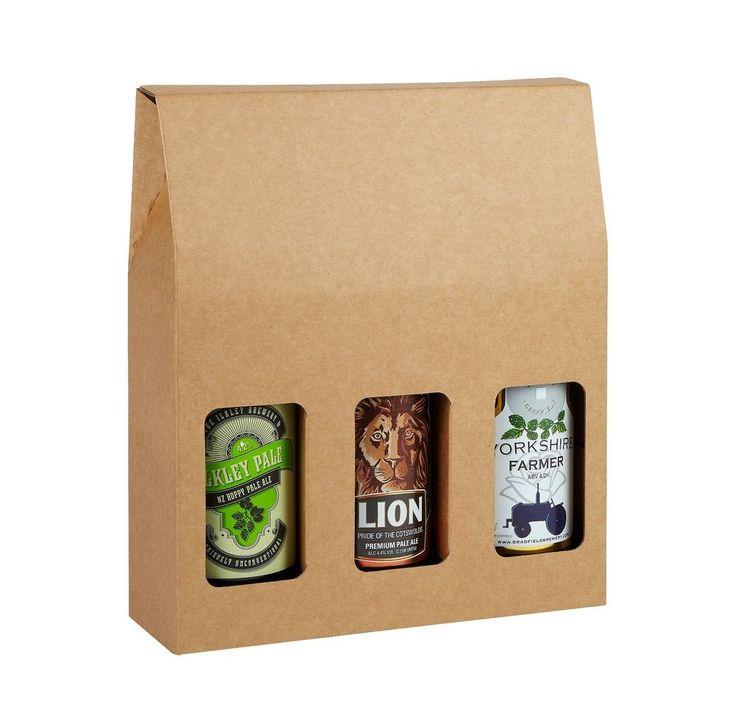 Triple Beer Bottle Box - Pack of 6 - Home Brewery Packaging