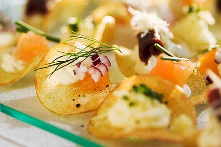 Tre aptitretare på potatischips