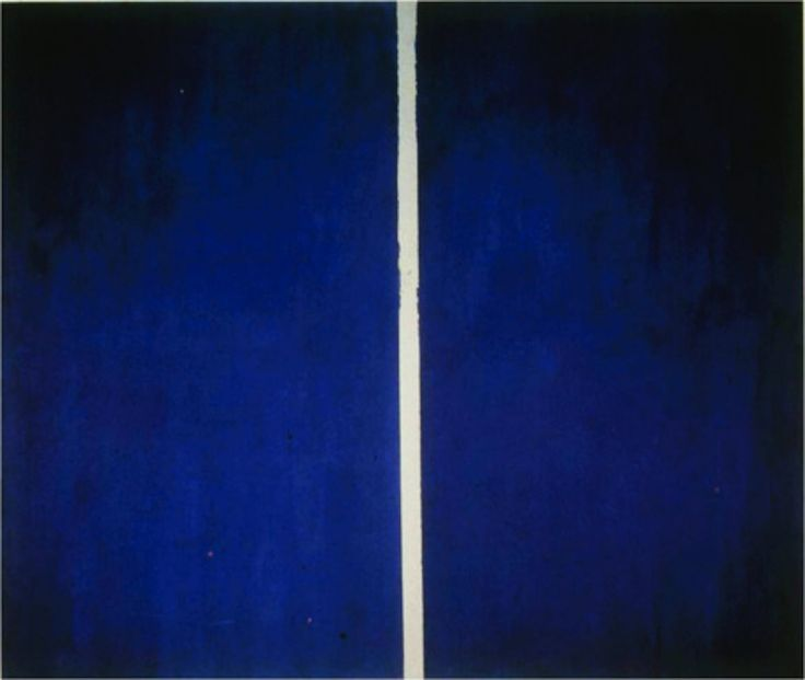 barnett newman blue couple