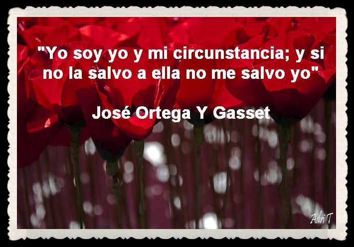 JORGE ORTEGA Y GASSET