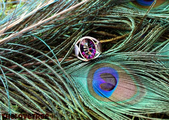 Mystic Topaz Ring for guidance clarity and strengthening gifts. ♥