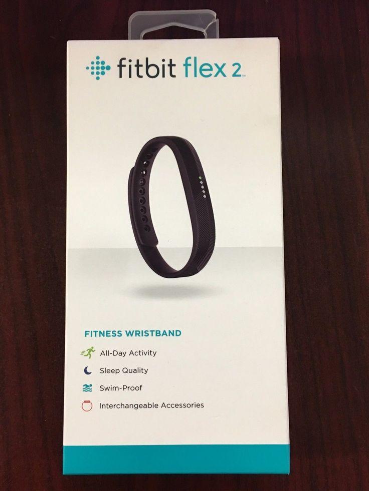 NEW! Authentic Fitbit Flex 2 Fitness Wristband - Black FB403BK OPEN BOX
