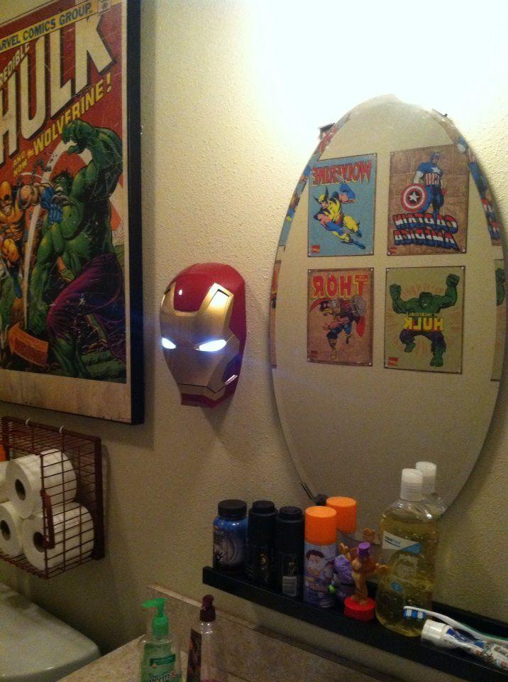 102 best A Superhero Bathroom- Hall bathroom images on Pinterest ...