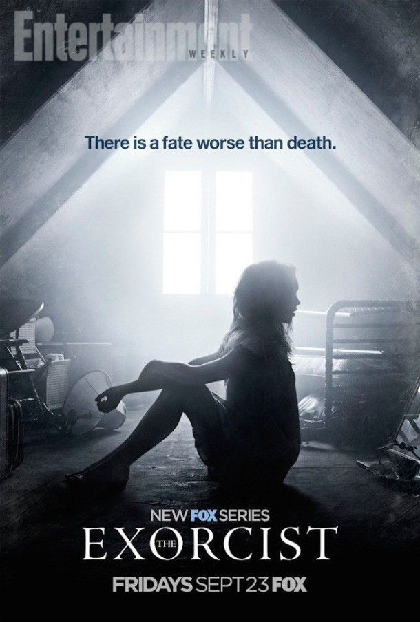 New Official Poster for The Exorcist TV Series: We are hoping that Fox's The Exorcist TV Series delivers as a TV… #Fox #TheExorcistSeason1