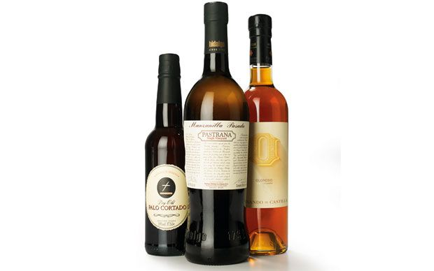 Three delicious sherries, perfect for sipping on Christmas Day