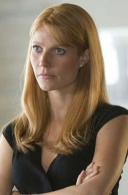 Pepper Potts aka Ryans love