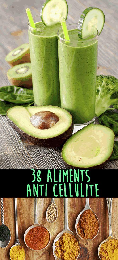 Tous les aliments que tu devrais manger plus souvent pour leur effet anti-cellulite.