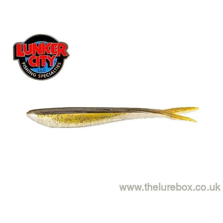 """Lunker City Fin-S Fish 4"""" Baby Bass"""