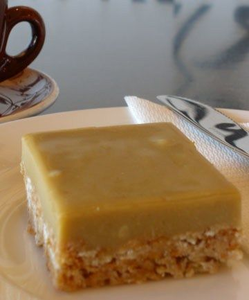 Ginger Oat Slice