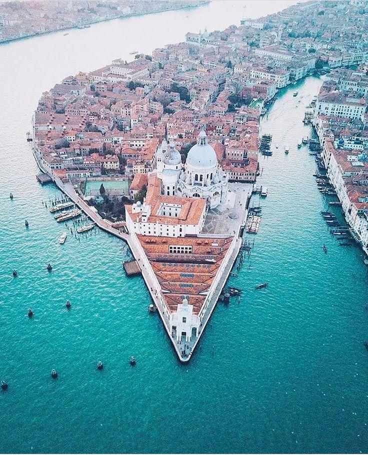 La punta de la Dogana - Venecia - Italia