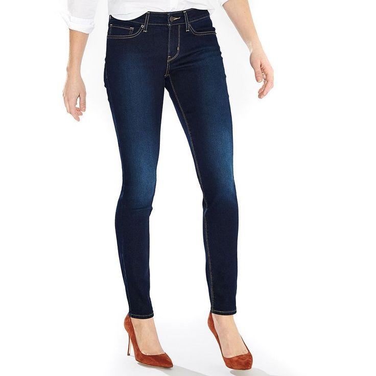 Women's Levi's® 711 Skinny Jeans, Size: 31(Us 12)M, Dark Blue