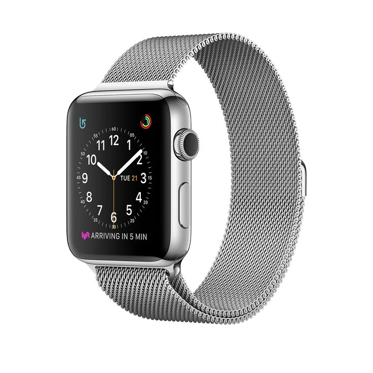 Shop Apple Watch Series 2 Stainless Steel in 38mm or 42mm with built-in GPS and Milanese Loop. Buy now with fast, free shipping.
