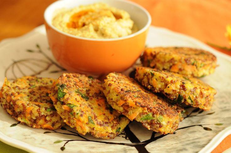 Croquetas de Quinoa y Zanahoria http://yourspanishfoods.com/2014/06/09/la-zanahoria-y-sus-propiedades-receta-organica/