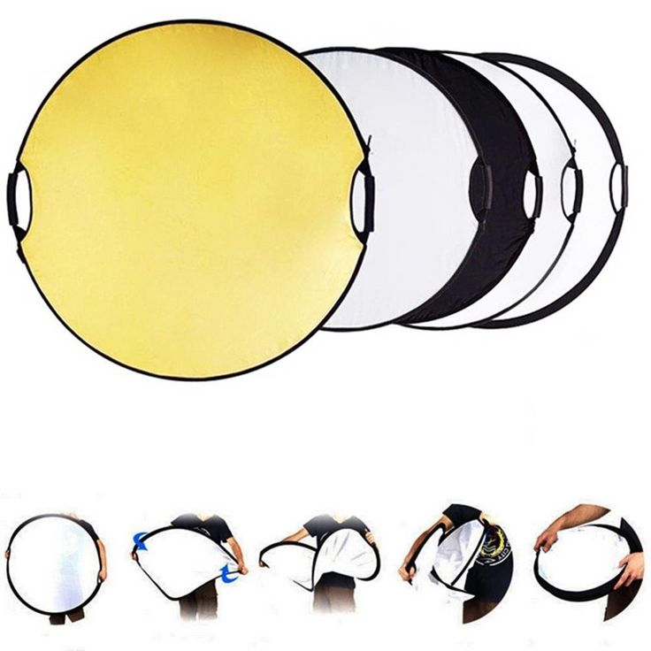 >> Click to Buy << Lightdow 43 Inch 110CM 5 in 1 Round Portable Collapsible Multi Disc Light Photographic Lighting Reflector with Handle Bar #Affiliate