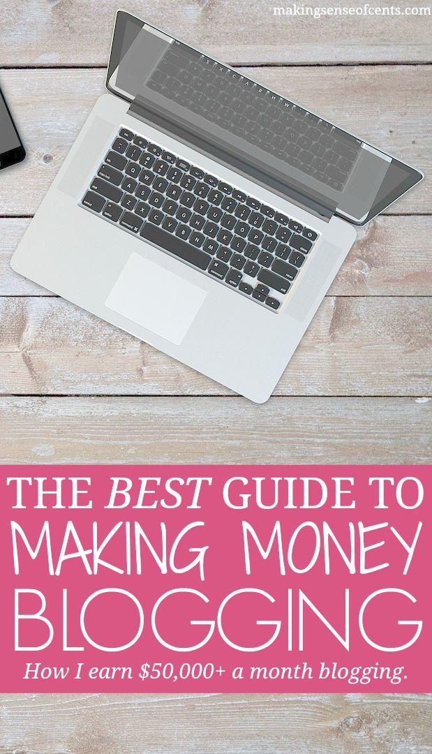 Making money blogging is something that YOU can do. I earn over $50,000 a month with my blog and show you how to make money with a blog too.