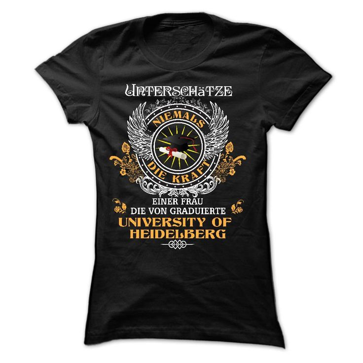 (New Tshirt Coupons) University of Heidelberg [Hot Discount Today] Hoodies Tee Shirts