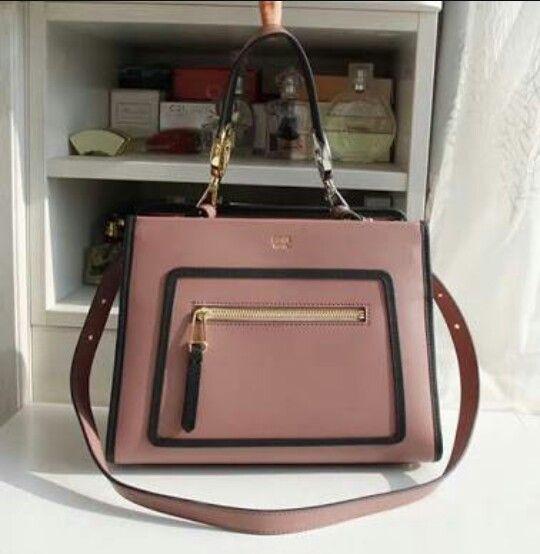 e6c394672d Fendi runway 2018 small shoulder bag rose pink