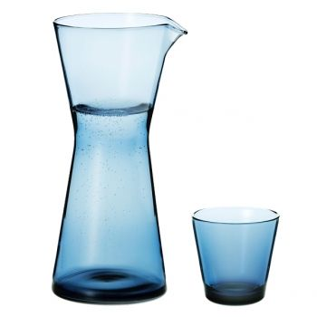 Iittala Kartio pitcher,light blue   Carafes & Pitchers   Tableware   Finnish Design Shop
