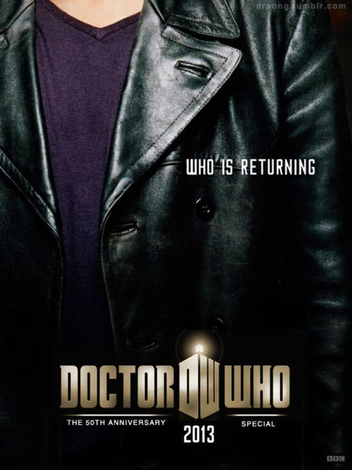 Ninth DoctorFans Posters, 50Th Anniversary, Anniversaries Fans, Doctors Who, 50Th Anniversaries, Leather Jackets, Dr. Who, Christopher Eccleston, 9Th Doctors