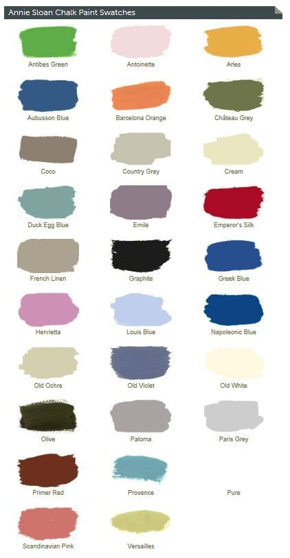 Online Annie Sloan chalk paint source