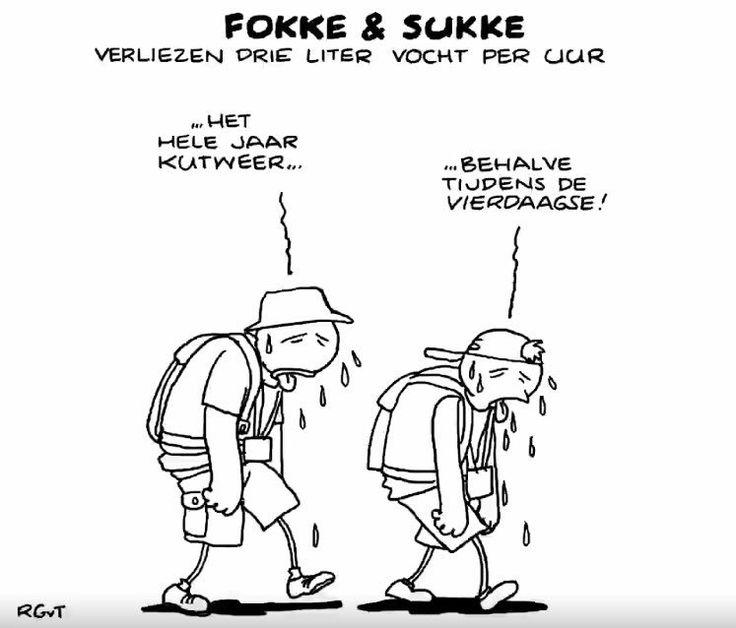 """""""Fokke & Sukke over de Vierdaagse"""