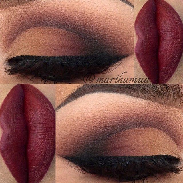 matte-make-up-rode-lippen