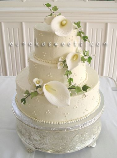 Lily Rose Cake Design : 25+ best ideas about Calla Lily Cake on Pinterest Oval ...