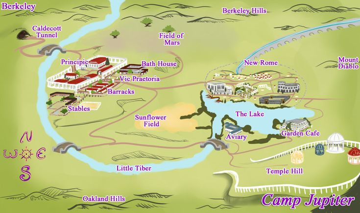 Camp Jupiter map by PocketFairyChibi.deviantart.com on @deviantART