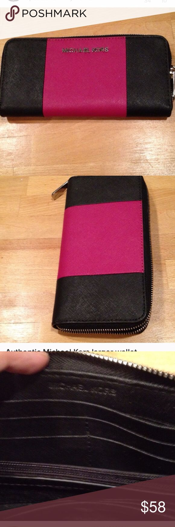 Atlantic Michael Kross new wallet Lots pocket , zipper coin . New 8 plus more slots , 2 spots to hold cash Michael Kors Accessories