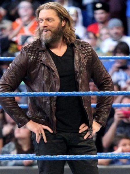 Edge Returns #WWE Smack Down Maroon Jacket