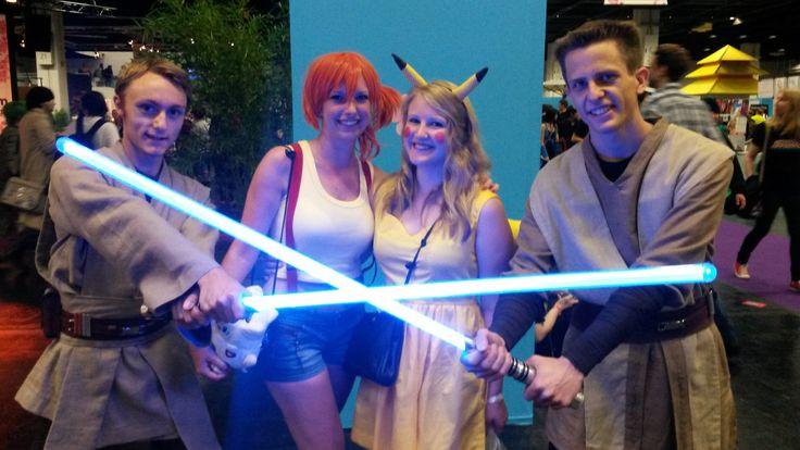 gamescom 2014 - Saberproject - Alles über Lichtschwerter