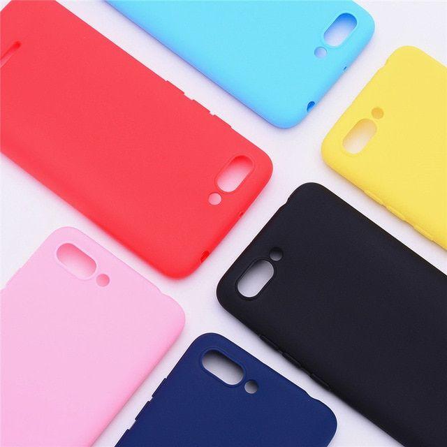 Silicone Case On Xiaomi Redmi 6a Cover For Redmi 6 6a Case Soft Tpu Color Matte Back Cover Phone Case For Redmi 6 A Redmi 6a Revi Phone Cases Silicon Case Case