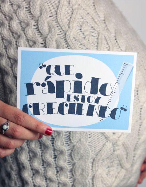 - Diario de embarazo LeBlue - Postales para fotos de embarazo